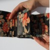 Small Grande Floral Leather Trifold Wallet