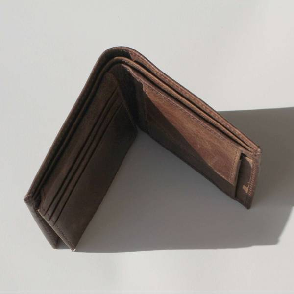 Men's Wallet Brown Leather