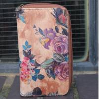 Zip Surround Large Wallet Floral 14