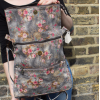 Amelie Backpack Convertible to bag in Spring Floral