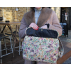 Laptop Bag Berlin In Autumn Floral Leather