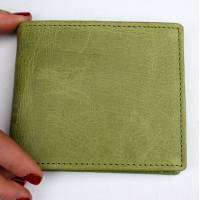 Alberta Trifold Wallet Apple Green