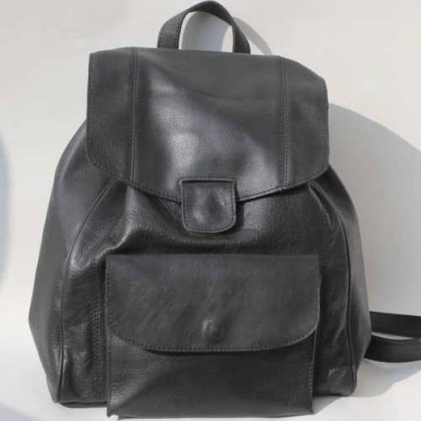 Coolruck Rucksack Black Leather