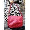 Denise Multi-Compartment Bag Red