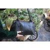 Doris Shoulder Bag Clipframe Black