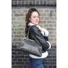 Doris Shoulder Bag Clipframe Charcoal