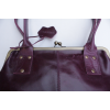 Doris Shoulder Bag Clipframe Purple