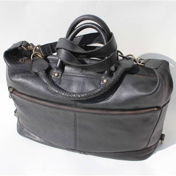 Gertrude Tote Black Large