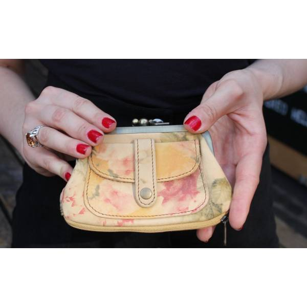 Amy purse - light floral print