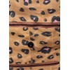 Amelie Backpack Convertible to Messenger Bag Leopard Print Vegan N3