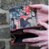 Meirn Red & Floral Leather Wallet