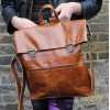 Belgian Rucksack Tan Smooth Leather