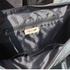 Tote Navy Blue Leather Bag