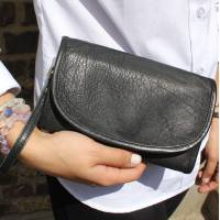 Theatre Convertible Clutch Bag Black