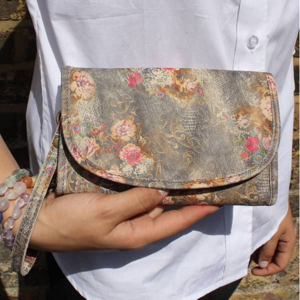 Theatre Bag Floral n21 Leather