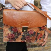 American Funky Bag Tan Leather