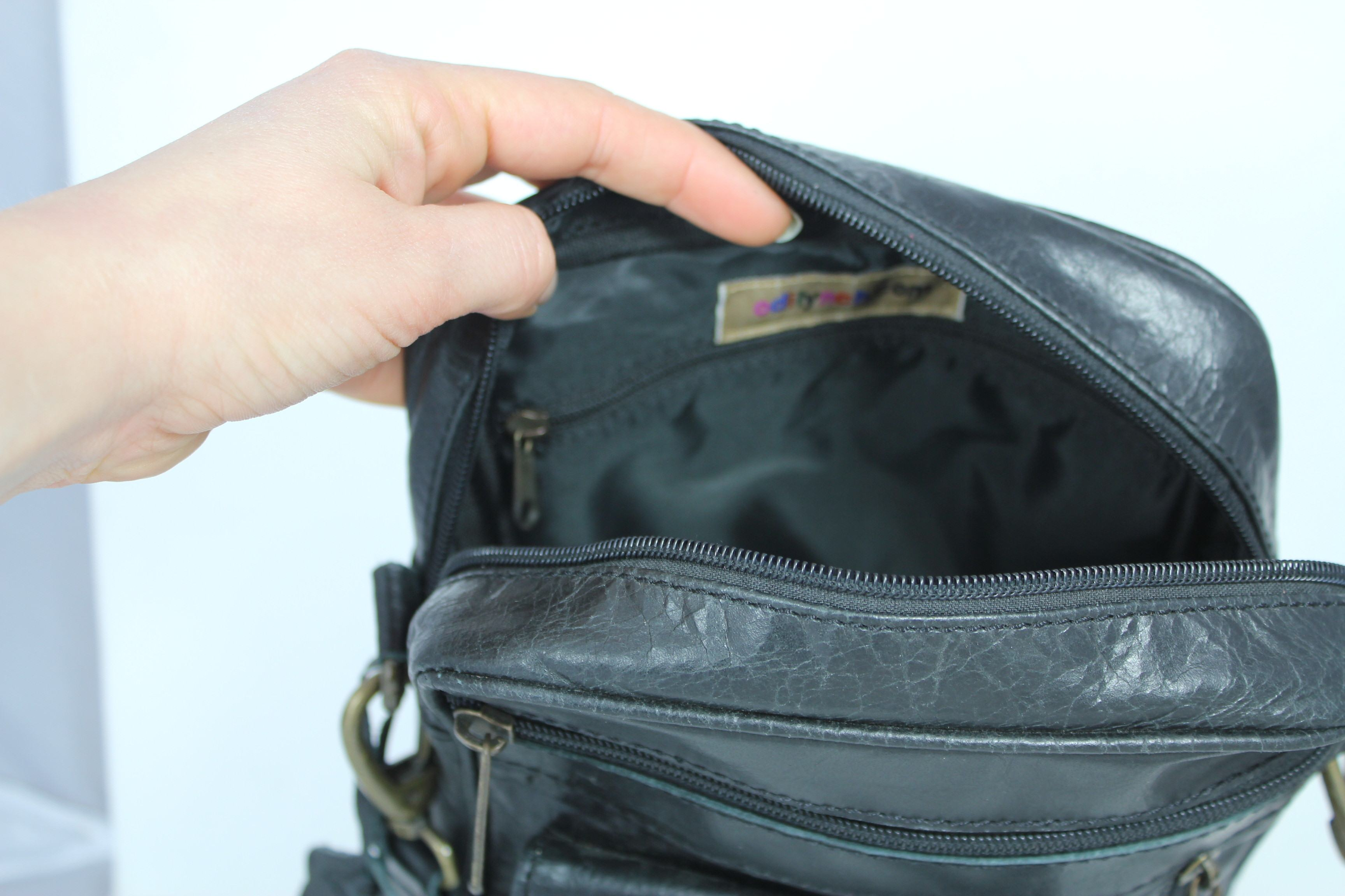 195426cd330 OdiLynch.com - Man-Bag-Black-Leather-Multipocketed-Zipped-Waterproof ...